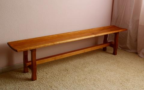 Bancos r sticos de madera archivos muebles antiguos y r sticos a medida - Banco de madera rustico ...