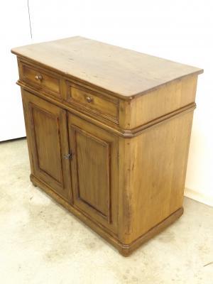 Peque o aparador antiguo de casta o restaurado muebles - Aparadores antiguos restaurados ...