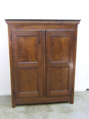 Alacena antigua restaurada en madera de cerezo - Muebles antiguos y ...