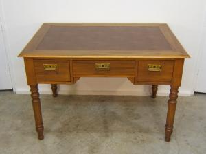 Venta de mesa escritorio de cerezo tienda antiguedades online - Mesas de escritorio antiguas ...