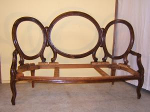 Tresillos antiguos restaurados