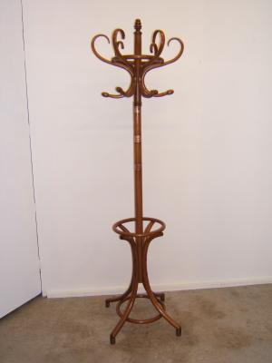 Perchero antiguo de pie muebles antiguos y r sticos a medida - Percheros de pie antiguos ...