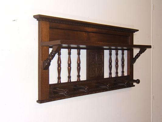 Venta de perchero de pared antiguo tienda antiguedades online - Perchero recibidor antiguo ...