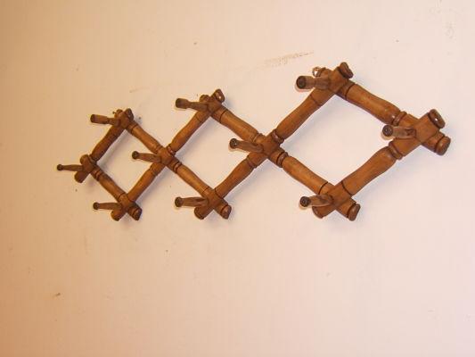 Comprar perchero extensible antiguo tienda antiguedades - Percheros rusticos de pared ...