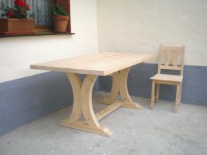 mesa rústica pino