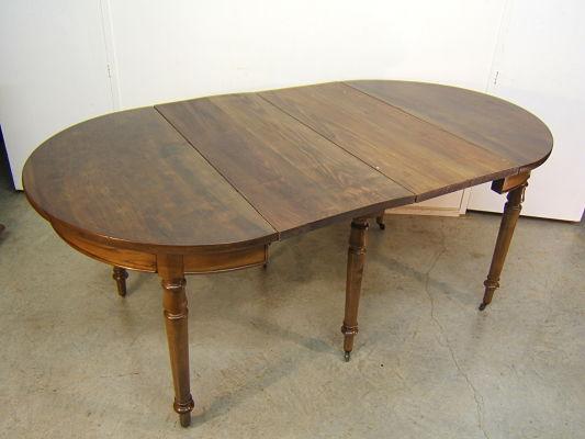 Venta de mesa redonda antigua tienda antiguedades online for Mesa redonda extensible