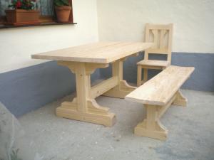mesas madera pino