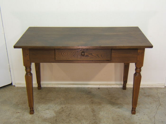 Comprar mesa antigua restaurada tienda antiguedades online for Mesa madera antigua
