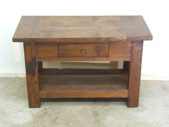 Comprar mesa r stica baja tienda antiguedades online for Mesas antiguas rusticas