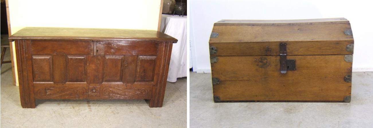 Nueva vida a las arcas y ba les antiguos - Baules antiguos de madera ...