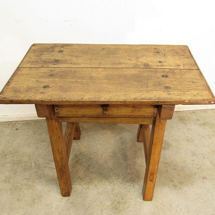 Mesa tocinera antigua muebles antiguos y r sticos a medida - Mesas auxiliares antiguas ...