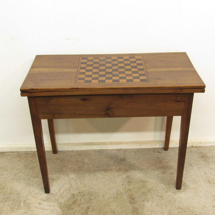 mesa de juego antigua 27617