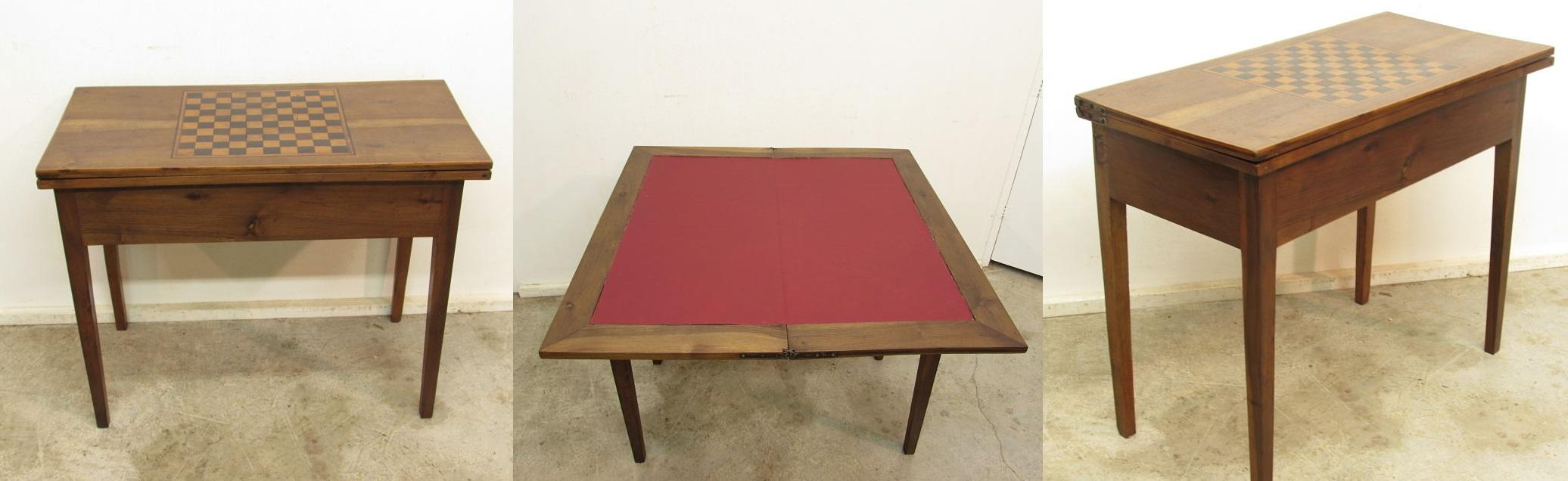 Zumadia mesa de juegos antigua