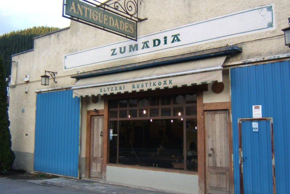 Zumadia tienda antigüedades