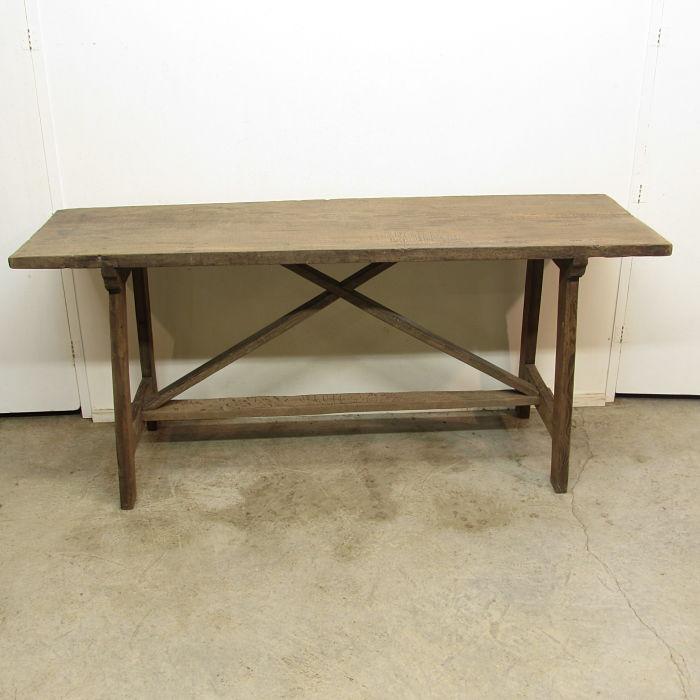mesa rústica de pared 3717