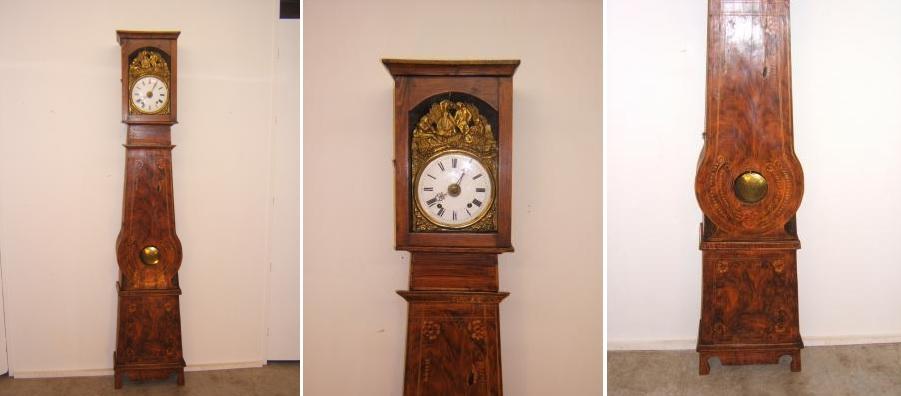 Zumadia-Reloj antiguo con caja