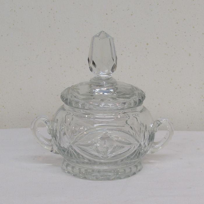 bombonera antigua de cristal 191217