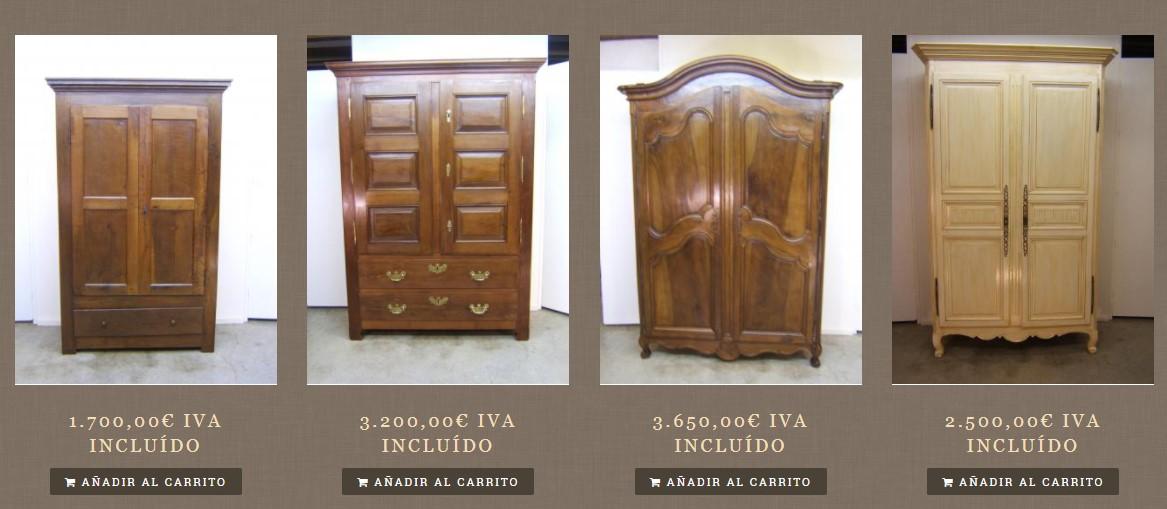 zumadia armarios antiguos restaurados