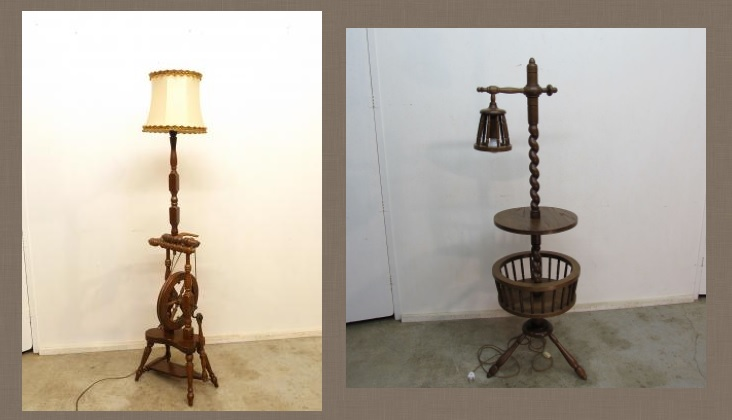 Zumadia lámparas antiguas de pie