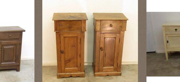 Venta online de muebles antiguos r sticos y antiguedades - Mesillas antiguas ...