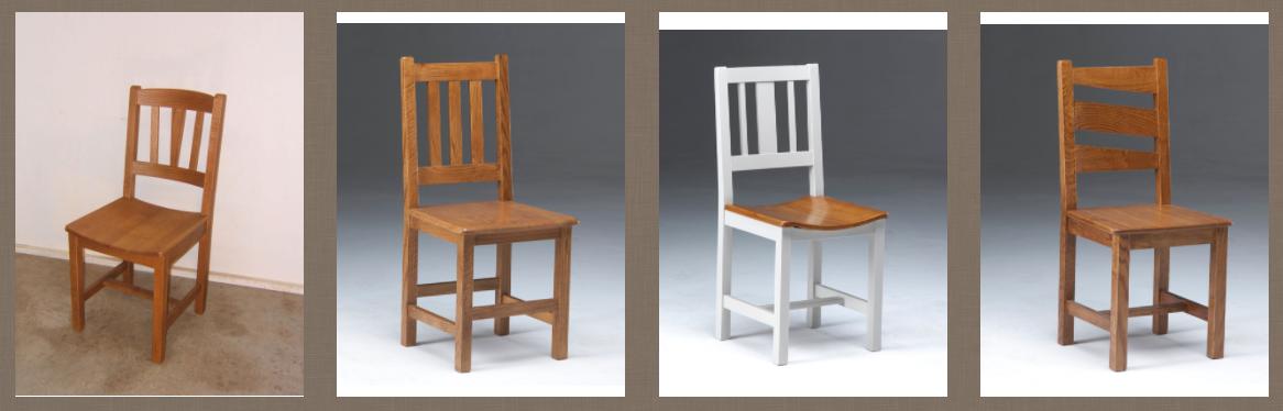Zumadia sillas rústicas