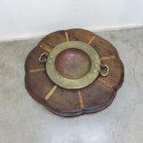 brasero antiguo con tarima 30418