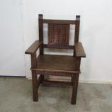 silla antigua restaurada 19418