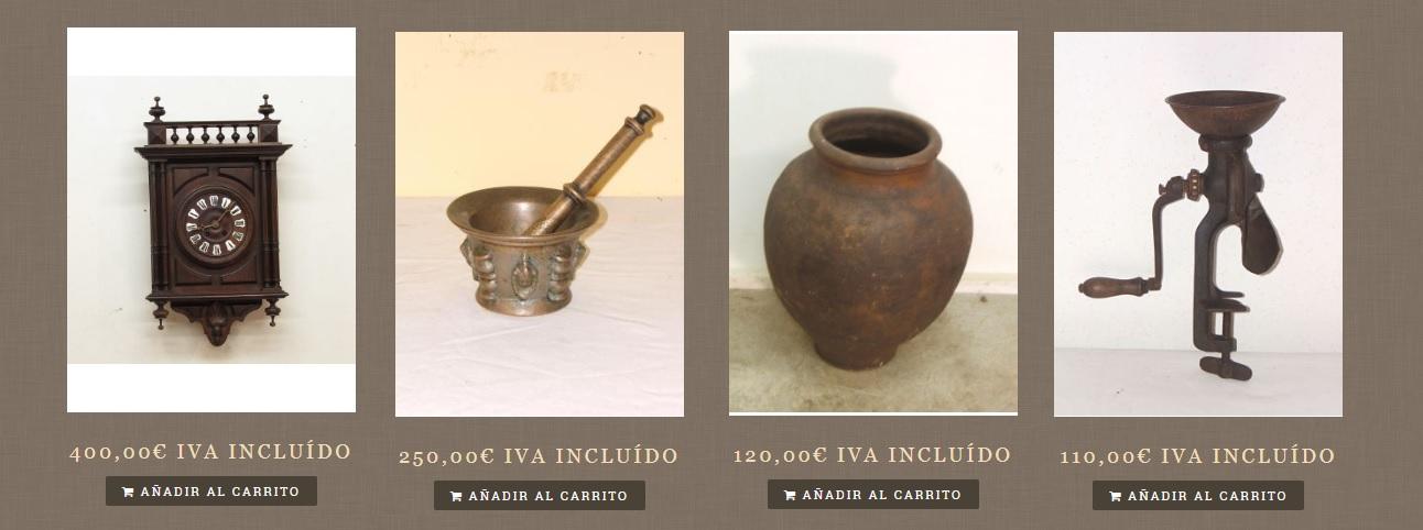 zumadia objetos decorativos antiguos