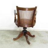 silla antigua giratoria 12618