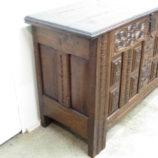 arcón antiguo de madera 20718
