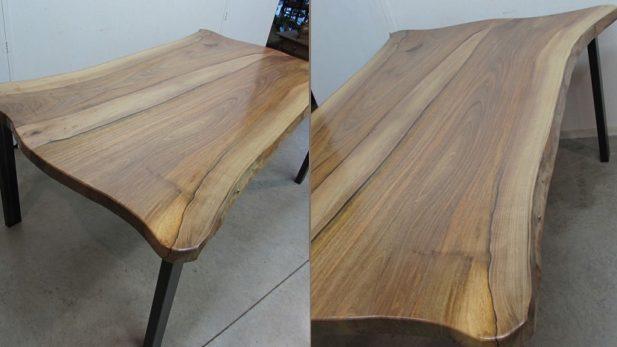 Zumadia mesa rustica nogal nuevo