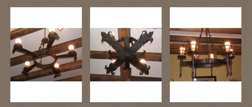 Zumadia lamparas forja antiguas