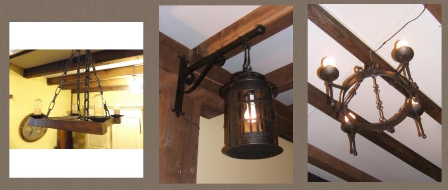 Zumadia lamparas forja