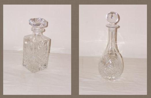 Zumadia licorerias antiguas cristal