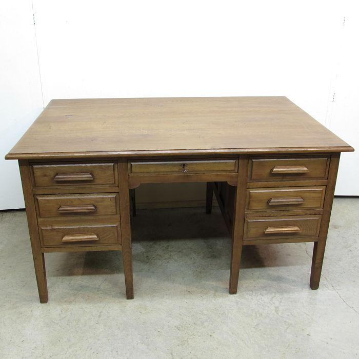 mesa escritorio antigua 1219