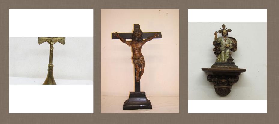 objetos religiosos antiguos