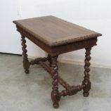 mesa antigua de roble 15519