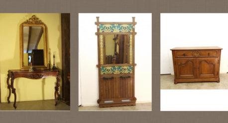 Tipos muebles de entrada antiguos
