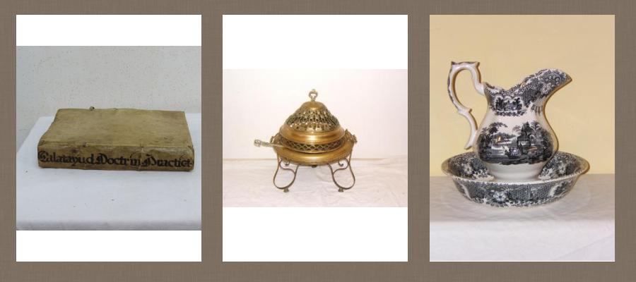 Objetos de decoración antiguos 1