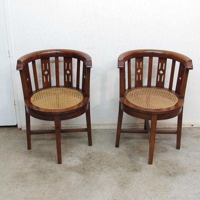 Pareja de sillas antiguas 15220