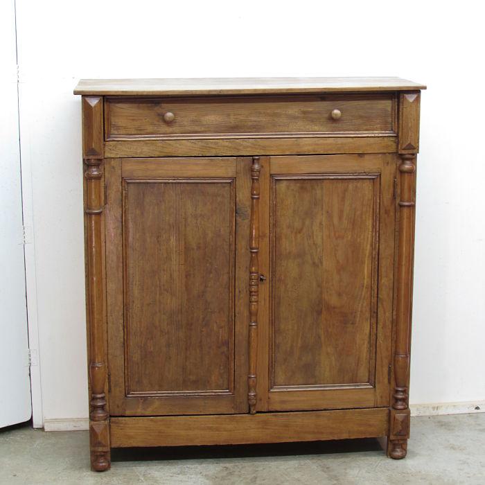 cómoda antigua de pino restaurada 28420