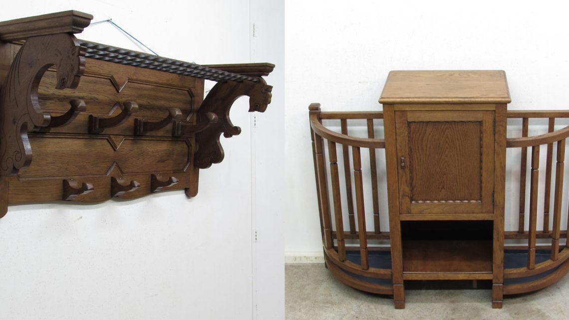 Composicion muebles de entrada antiguos